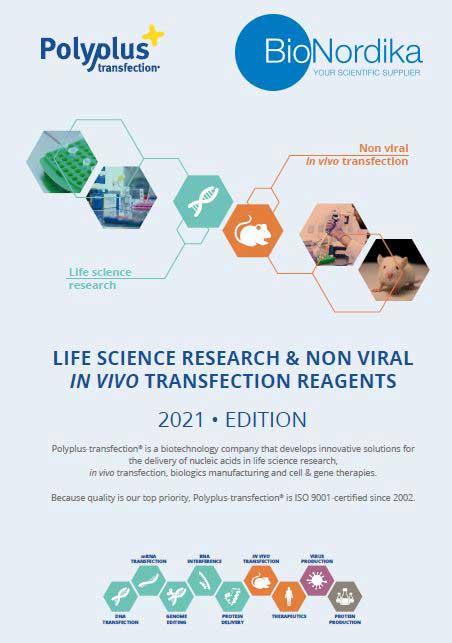 Polyplus Brochure Non Viral In Vivo Transfection Reagents